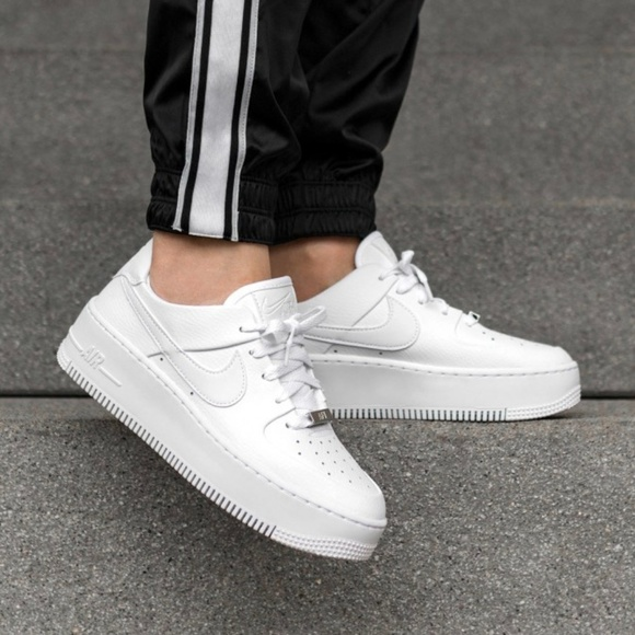 New Nike Air Force 1 Sage Low Triple White NWT